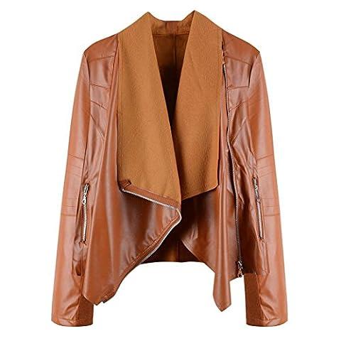 Xinantime-Womens Coat, Sac de voyage marron marron s