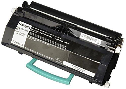 Lexmark E260A11E E260, E360, E460 Tonerkartusche 3.500 Seiten Rückgabe, schwarz