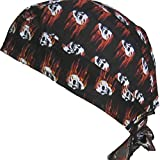 Fitted BANDANA Skull on Fire