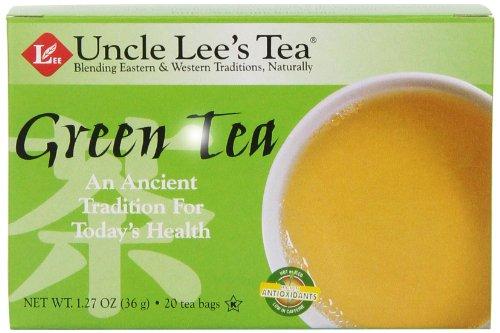 Uncle Lee 's Tea, Oriental Grün Tee, 20-count (Pack von 6) -