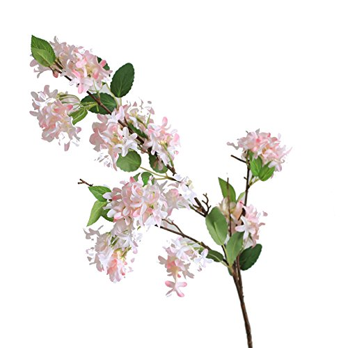 Fiiiii Künstlicher Flieder Wohnzimmertisch Hauptdekoration Gefälschter Blumenblumenstrauß Bürohochzeitsfestdekoration Rosa