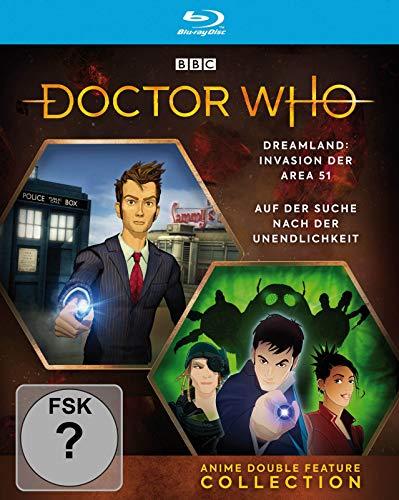 Doctor Who - Anime Double Feature Collection: Dreamland / Auf der Suche nach der Unendlichkeit [Blu-ray]