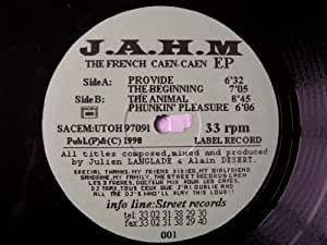 "JAHM The French Caen-Caen EP 12"" j.a.h.m"
