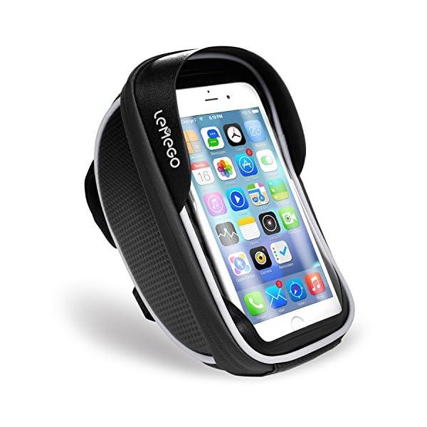 Borsa custodia bicicletta bici touch per smartphone Apple iPhone X