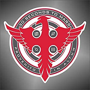 Adesivo 30 Second to Mars hip hop rap jazz hard rock pop funk sticker