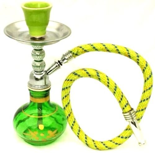 8' Mini Shisha Small Hookah Sheesha Smoking Pipe Red for sale  Delivered anywhere in UK