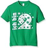 Coole-Fun-T-Shirts Jungen T-Shirt Ich Bin 2 Jahre!, Gr. One Size (Herstellergröße: 104cm/1-2 Jahre), Grün (Green-Weiss)