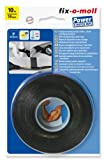 fix-o-moll Power-Stretch-Band selbstverschweißend 10 m x 19 mm schwarz, 3563085