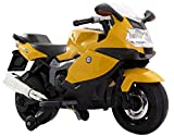 #6: Toyhouse BMW Superbike 12V Rechargeable Battery Operated Ride-on for Kids , Yellow