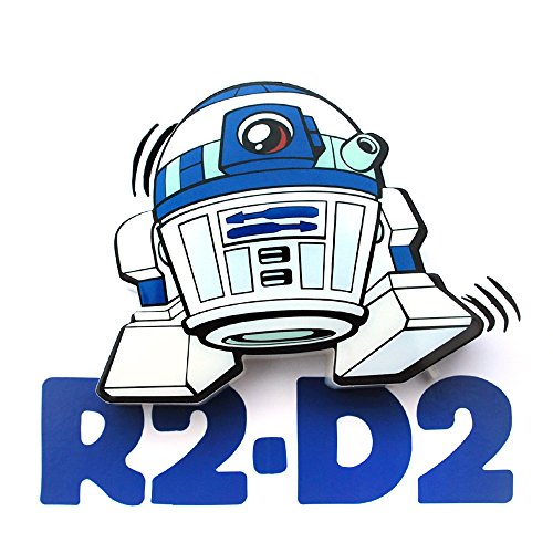 3D Light FX Star Wars R2-D2 3D Deco Mini Applique Murale à LED