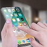 iPhone X Schutzfolie, Infreecs Displayschutz iPhone X Panzerglas 3D Touch Kompatibel, 9H Härtegrad, 99% Transparenz Panzerglasfolie Displayschutzfolie für iPhone X - 2 Stück