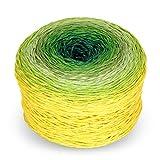 "Rellana Regenbogen Fun, Farbe 632 - ""Meadow"", Bobbel Wolle Farbverlauf, Farbverlaufsgarn"