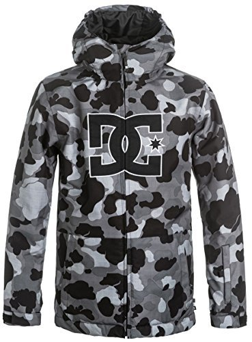 DC Shoes Boys Dc Shoes Story - Snow Jacket - Boys 8-16 - 14 - Black Camouflage Lodge Grey 14 by DC