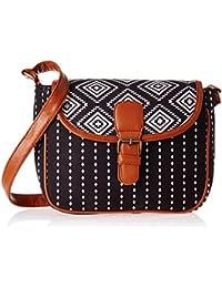 Kanvas Katha Women's Sling Bag (Multicolor) (KKYS003)