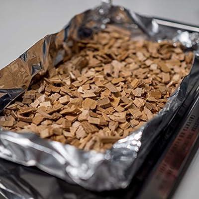 Muurikka Räucherchips aus finnischer Erle, 10L Räucherspäne für Smoker & Räucherofen