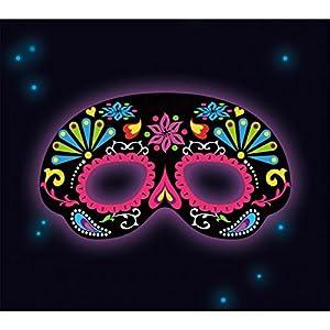 Favors, Glow Stick máscara negro ornamtal