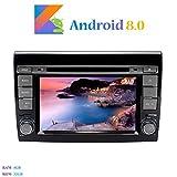 Android 8.0 Autoradio, Hi-azul 2 Din 7 Pouces Car Radio 8-Core RAM 4G ROM 32G Car Audio Récepteur de Radio de Voiture Stéréo Voiture pour Fiat Bravo(2007-2012) (Autoradio)