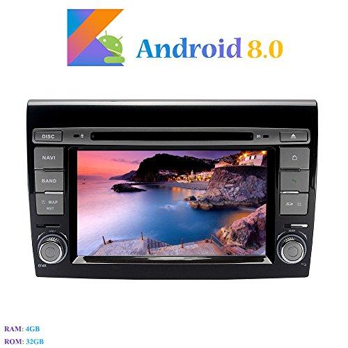 Android 8.0 Autoradio, Hi-azul 2 DIN 7