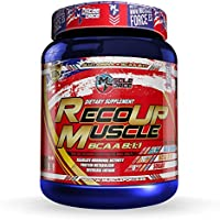 Muscle Force RecoUP Capsules Aminoácidos 8:1:1, 400 Unidades