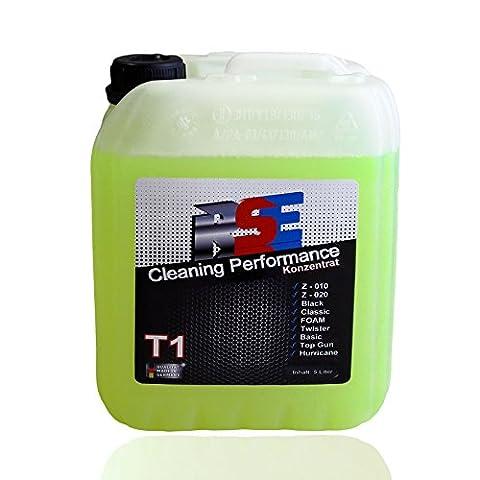 RSE T1 Konzentrat für Reinigungspistolen Rotationssysteme 5 Liter Hochkonzentrat Z-010, Z-020, Black, Classic, Foam, Twister, Basic usw