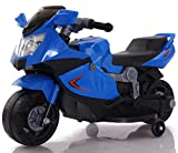 Toy House Mini Ninja Superbike Rechargeable Battery Operated Ride-On for Kids (2 to 4Yrs), Blue