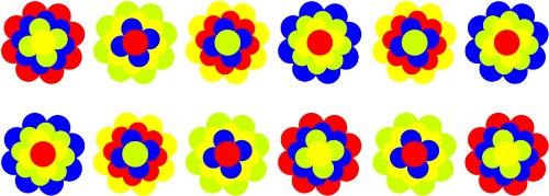 Pegatinas Pril Flores Pril Juego 302095Flores 12x 4,5cm
