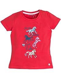 Salt & Pepper Horses Uni Print, T-Shirt Fille