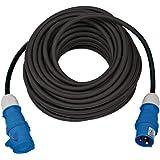 Brennenstuhl Camping verlengkabel 25 m (camperkabel / CEE-kabel met CEE-stekker en koppeling met afsluitklep, campingkabel vo