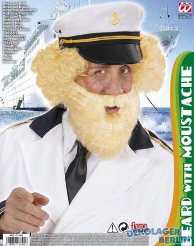 rt mit Tash - Blondes Charakter, falsche Schnurrbärte, Koteletten etc. für Kostümzubehör ()