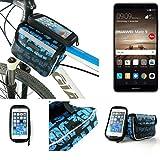 Fahrrad Rahmentasche für Huawei Mate 9 (Dual-SIM),