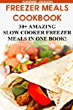 Freezer Meals Cookbook: 30+ Amazing Slow Cooker Freezer Meals In One Book!: (Freezer Recipes, 365 Days of Quick & Easy, Make Ahead, Freezer Meals) ... cookbook for two, dump dinners cookbook)