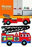Stickers Mural enfants Camions de pompiers (PRIGENT ) Nouvelles Images...