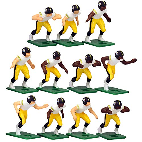 Pittsburgh Steelers?White Uniform NFL Action Figure Set by Tudor Games