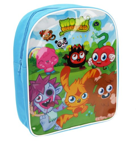 Image of Trade Mark Collections Moshi Monster Backpack (Blue)
