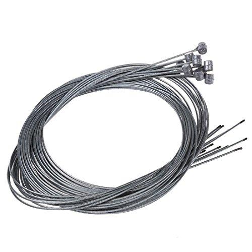 TOOGOO(R) 10pzs 1.75m Cable alambre interior de freno de MTB Bicicleta Ciclismo