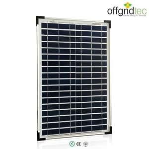 Offgridtec, Pannello fotovoltaico 20 W 12 V, 3-01-001270