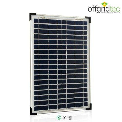Offgridtec Poly 12 V, 20 Watt, Solarpanel, 3-01-001270 (Solar 50w 12v Panel)