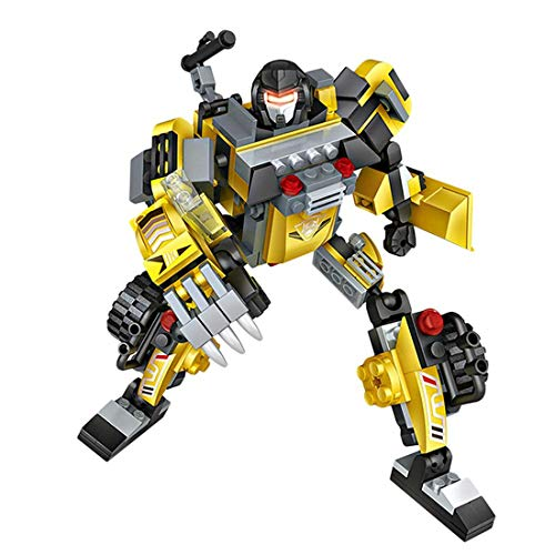 Loz ModulexTF. 3-in-1 Transformers Kit mit Mini-Blocks. Gelb - 3-in-1-transformer-spielzeug