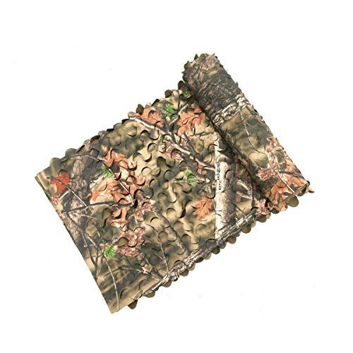 Auscamotek 300D Tarnnetz, Camouflage, Netzstoff, für Jalousien, Baum, Ständer, Stühle, Braun