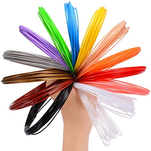 stylo 3d filament recharge pla 26 couleurs 20 pieds 6m chaque couleur pochoir. Black Bedroom Furniture Sets. Home Design Ideas