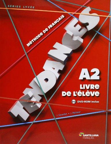 TENDANCES A2 - ELEVE + DVDR - 9788492729739 por Vv.Aa.