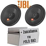 VW Polo 6N2 - JBL Stage 602E   2-Wege   16cm Koax Lautsprecher - Einbauset