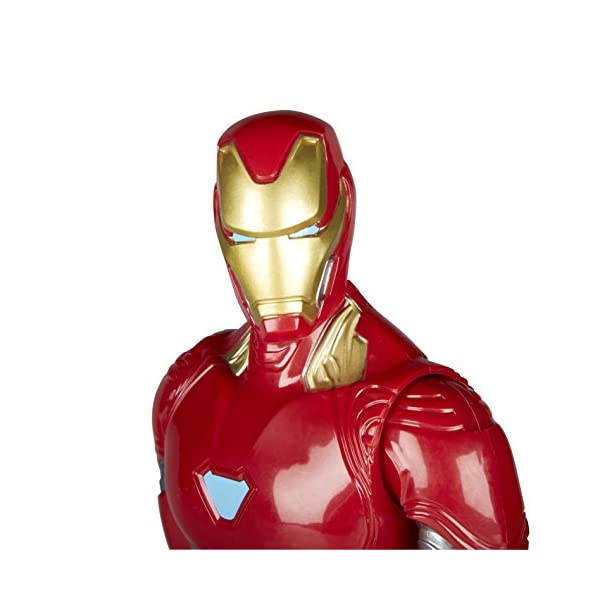 Marvel- Figura Titan Hero Series Infinity War, Iron Man (Hasbro E1410EU4) 4