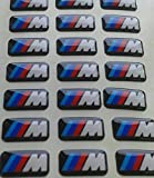 10 x BMW M Emblem Sticker Aufkleber