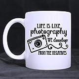 Welcome. Stil Cool Fotografen Geschenk Kaffee Tasse Life is like Photography entwickeln Wir aus der Negative Weiß Kaffee oder Tee Tasse–11Unzen