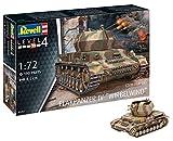 Revell 12 Modellbausatz 03267 Flakpanzer IV Wirbelwind (2 cm Flak 38), Militär-Bausatz im Maßstab 1:72, Level 4, originalgetreue Nachbildung mit vielen Details