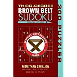Third-Degree Brown Belt Sudoku® (Martial Arts Puzzles Series) by Longo, Frank (2009) Paperback