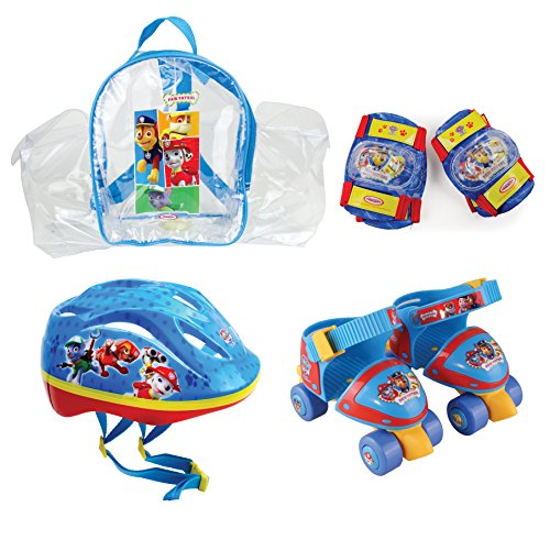Paw Patrol Kinder Schutzset Rollshuhe Mit, Mehrfarbig, Kid, OPAW002