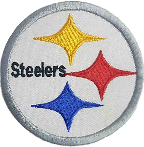 Pittsburgh Steelers Logo NFL Badge bestickt Patch 7,6cm Aufnäher oder zum Aufbügeln