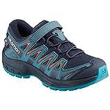 Salomon XA Pro 3D CSWP K, Zapatillas de Deporte Unisex Niños, Azul (Navy...